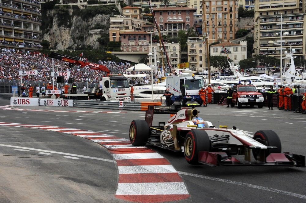 Photo: Monaco 2012 Narain Karthikeyan
