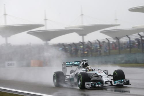 Formel 1, 2014, China, Hamilton, Pole