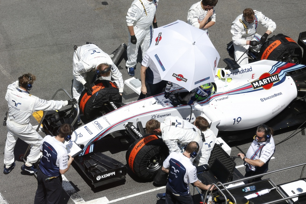Photo: Formel 1, 2014, Austria, Massa, Pole