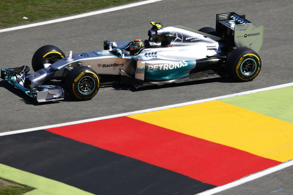 Photo: Formel 1, 2014, Hockenheim, Rosberg