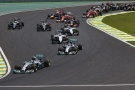 Photo: Formel 1, 2014, Interlagos, Start
