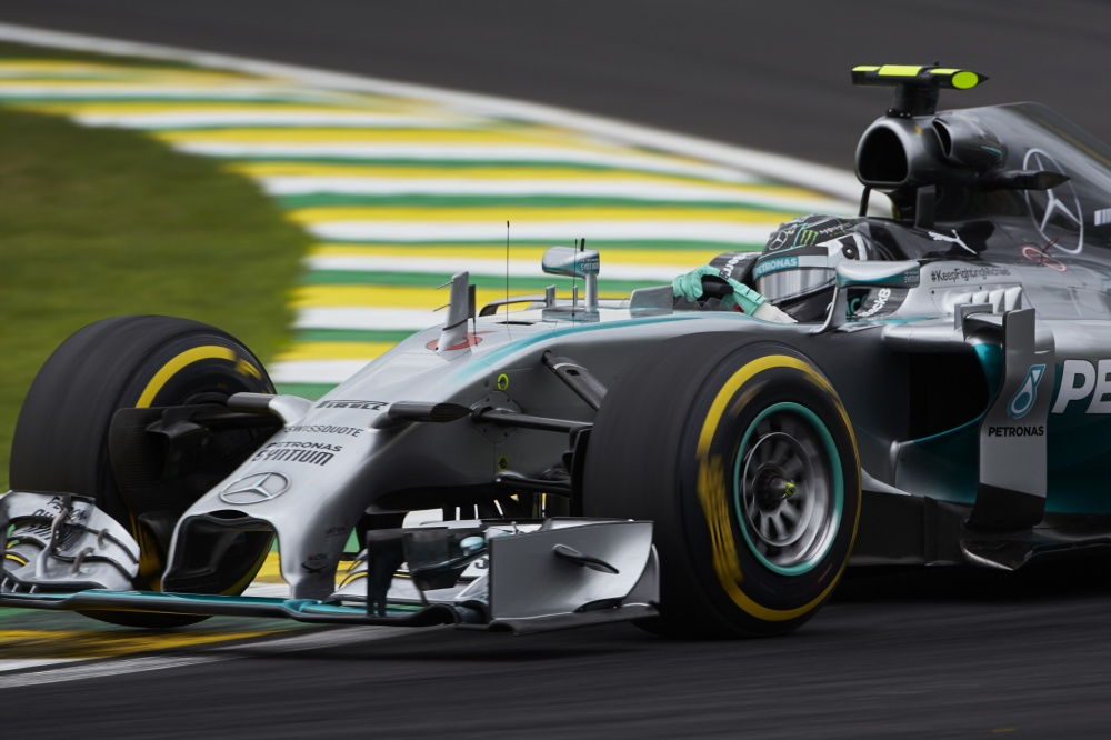 Photo: Formel 1, 2014, Interlagos, Rosberg, Pole
