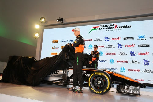 Formel 1, 2015, Force India, Presentation