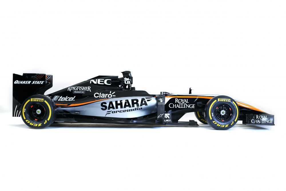 Photo: Formel 1, 2015, Force India, livery