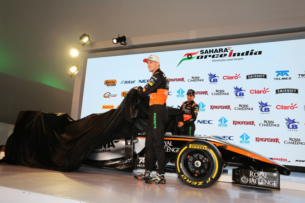 Photo: Formel 1, 2015, Force India, Presentation