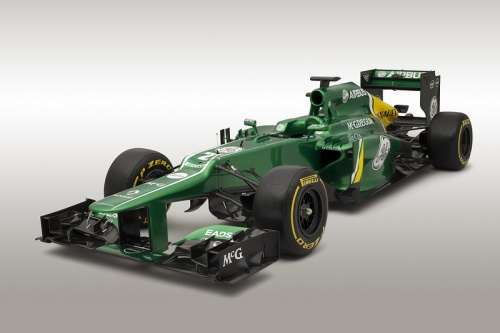 Caterham, CT03, 2013