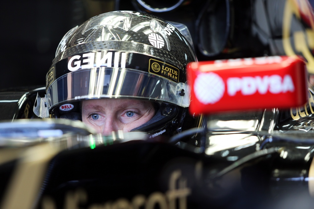 Photo: Formel 1, 2015, Test, Grosjean
