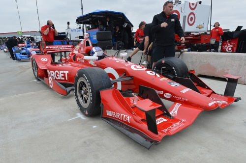 IndyCar, 2015, Tests, NOLA, Dixon