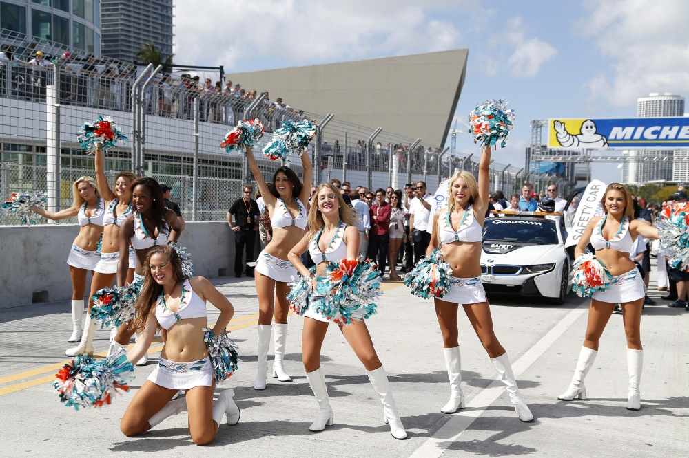 Photo: Formel E, 2015, Miami, Girls