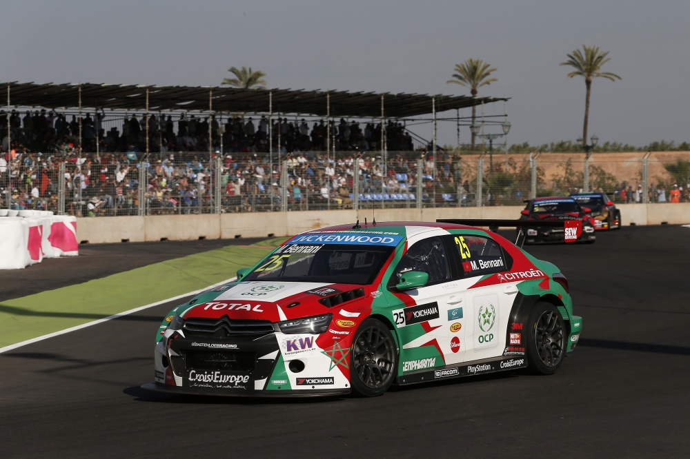 Photo: WTCC, 2015, Marrakech, Bennani
