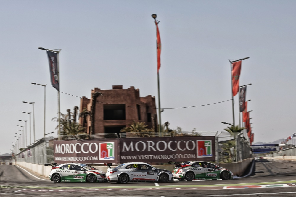 Photo: WTCC, 2015, Marrakech, Muller, Honda