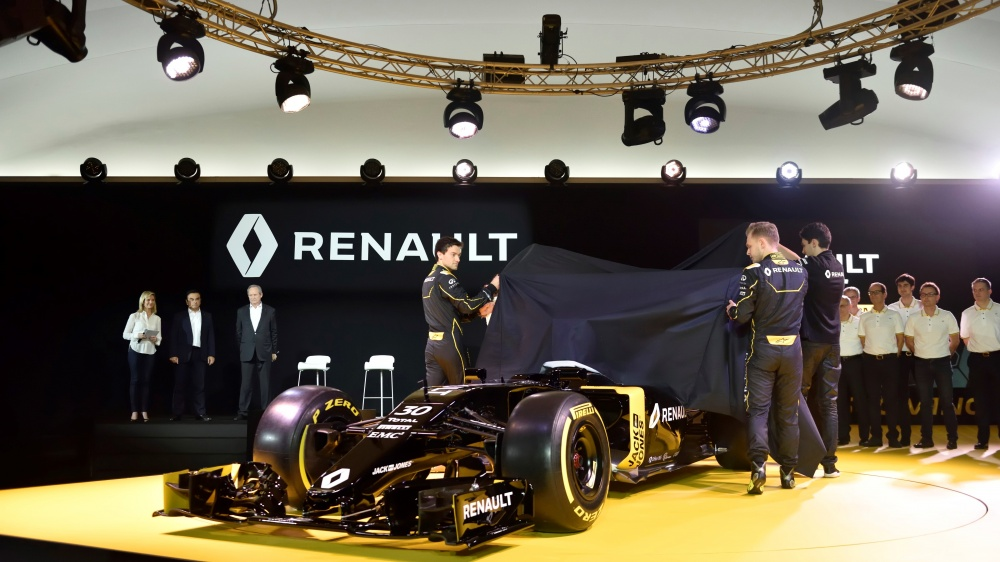 Photo: Formel 1, 2016, Presentation, Renault