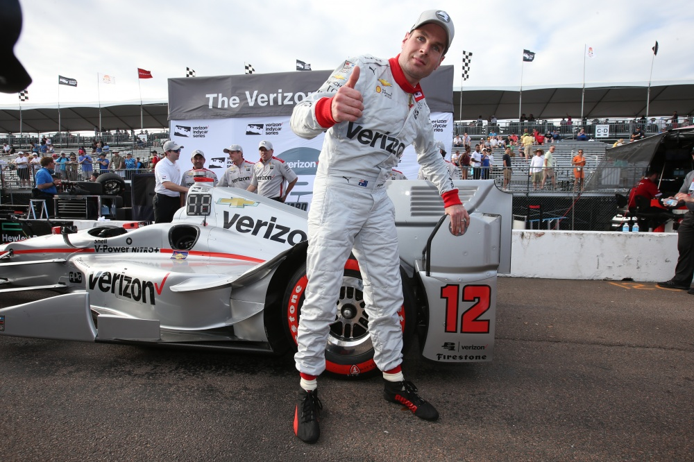 Photo: IndyCar, 2016, St.Pete, Will Power