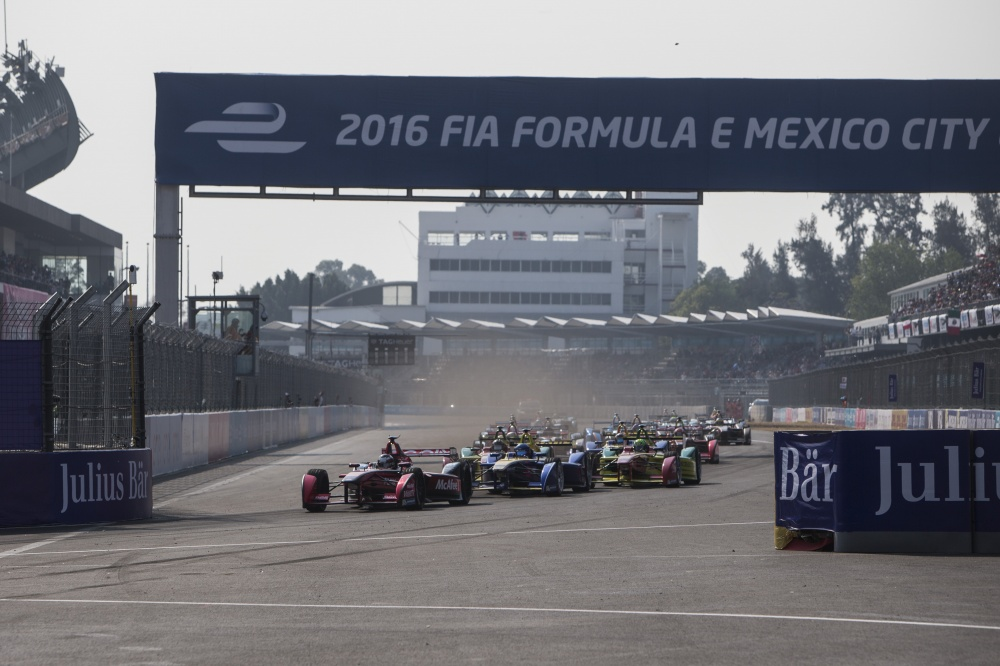 Photo: Formel E, 2016, Mexico, Start