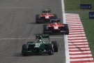 Photo: Formel 1, 2013, Bahrain, Caterham, Marussia