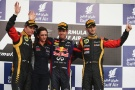Photo: Formel 1, 2013, Bahrain, Podium