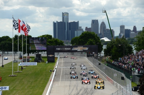 IndyCar, 2013, Detroit, Start 1