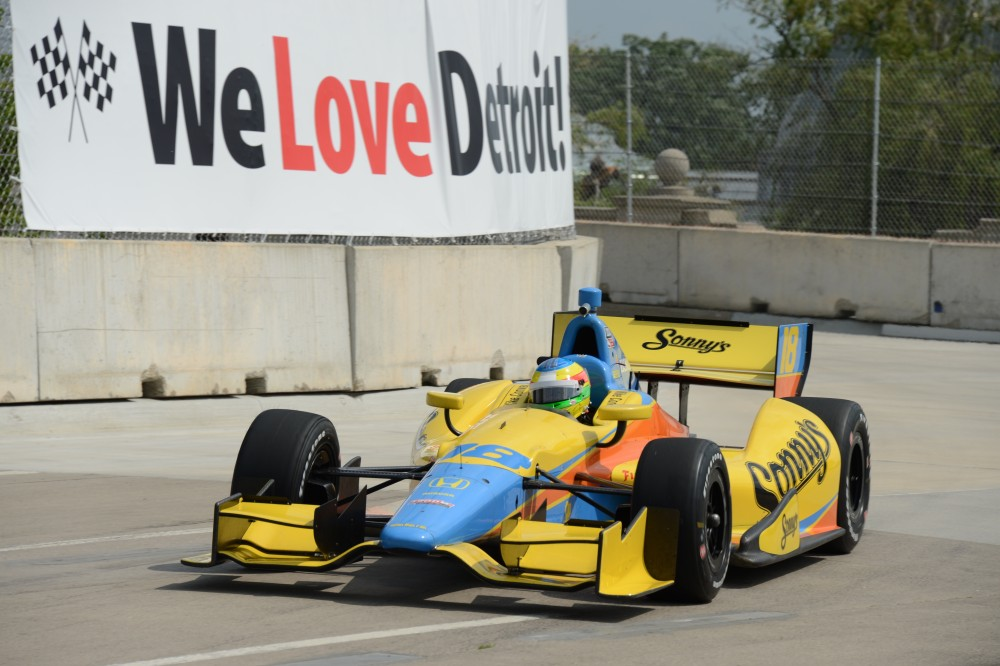 Photo: IndyCar, 2013, Detroit, Conway