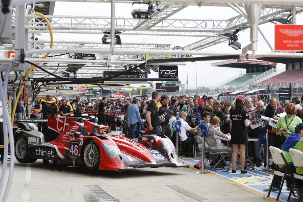 Photo: LeMans, 2013, Autograph Session