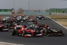 Photo: Formel 1, 2013, Ungarn, Start