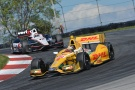 Photo: IndyCar, 2013, Lexington, Hunter-Reay, Pole