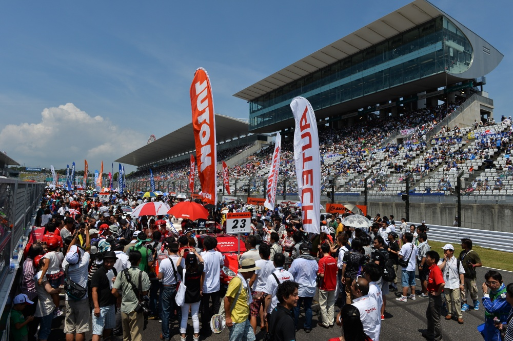 Photo: SuperGT, 2013, Suzuka, Prestart