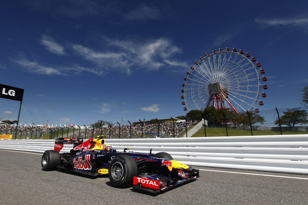 Photo: Formel 1, 2013, Japan, Webber