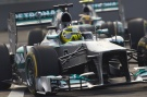 Photo: Formel 1, 2013, India, Rosberg, Mercedes