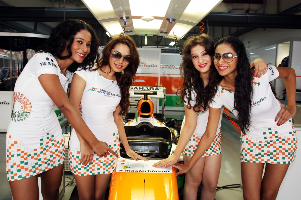 Photo: Formel 1, 2013, India, ForceIndia