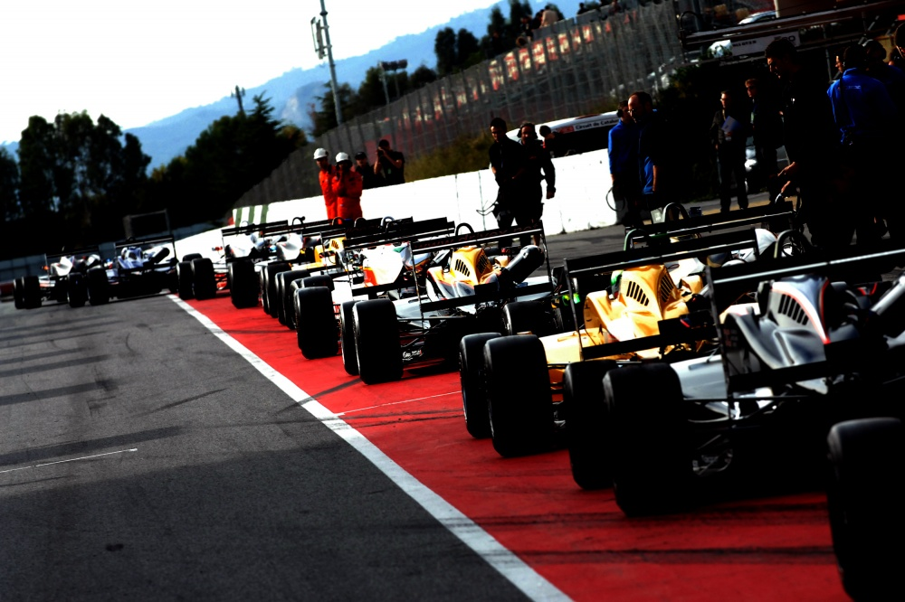 Photo: Formel 3 Open, 2013, Barcelona