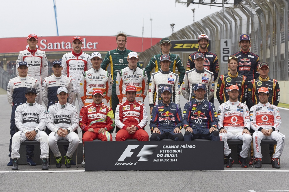 Photo: Formel 1, 2013, Interlagos, Foto