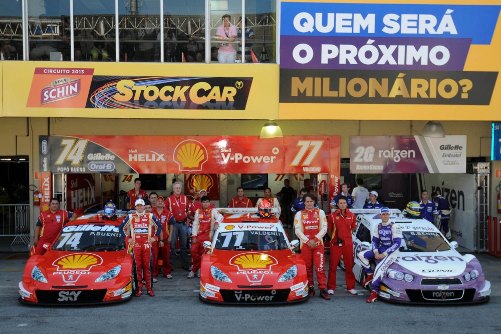 Photo: StockCar, Brazil, Interlagos, Senna