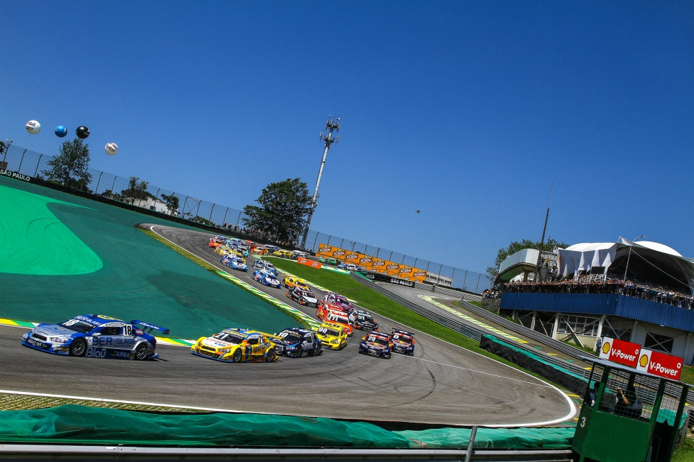 Photo: StockCar, Brazil, Interlagos, Start