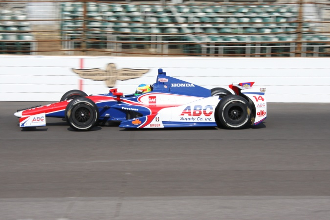 Photo: Mike Conway - A.J. Foyt Enterprises - Dallara DW12 - Honda