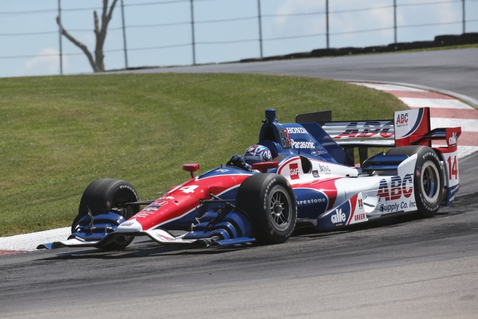 Photo: Takuma Sato - A.J. Foyt Enterprises - Dallara DW12 - Honda