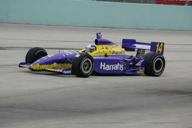 Photo: Airton Dare - A.J. Foyt Enterprises - Dallara IR-02 - Chevrolet