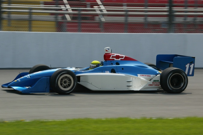 Photo: Richie Hearn - A.J. Foyt Enterprises - Dallara IR-02 - Chevrolet