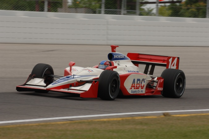 Photo: Jeff Bucknum - A.J. Foyt Enterprises - Dallara IR-05 - Honda