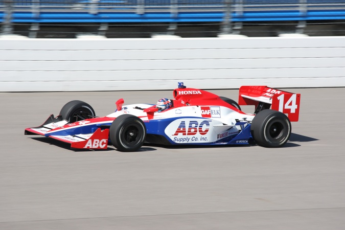 Photo: Ryan Hunter-Reay - A.J. Foyt Enterprises - Dallara IR-05 - Honda