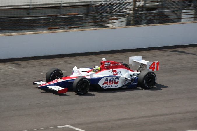 Photo: Jacques Lazier - A.J. Foyt Enterprises - Dallara IR-05 - Honda