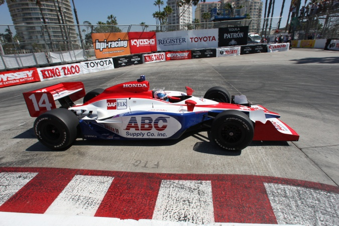 Photo: Vitor Meira - A.J. Foyt Enterprises - Dallara IR-05 - Honda