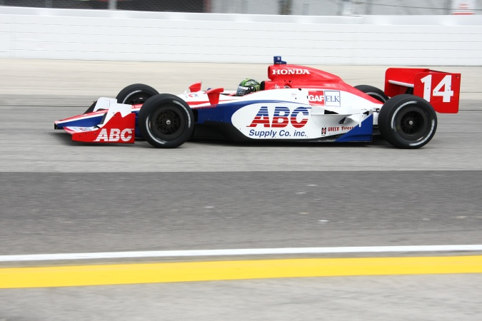 Photo: Paul Tracy - A.J. Foyt Enterprises - Dallara IR-05 - Honda