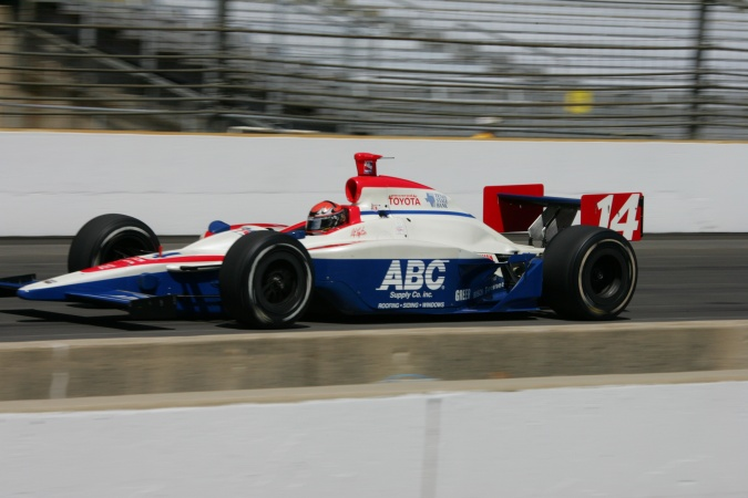 Photo: A.J. IV Foyt - A.J. Foyt Enterprises - Dallara IR-05 - Toyota