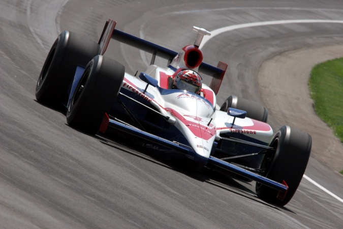 Photo: Larry Joseph Foyt - A.J. Foyt Enterprises - Dallara IR-05 - Toyota