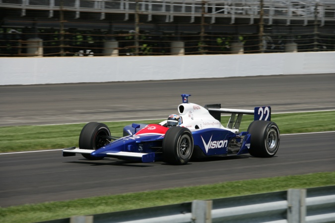 Photo: Jeff Ward - A.J. Foyt Enterprises - Dallara IR-05 - Toyota