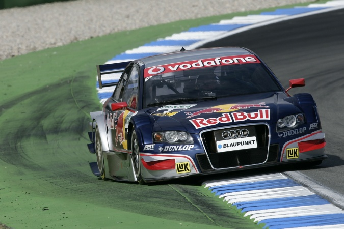 Photo: Mattias Ekström - Abt Sportsline - Audi A4 DTM (2007)