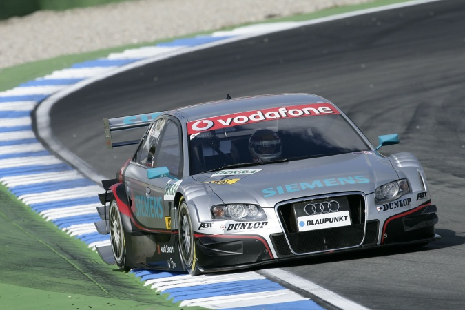 Photo: Tom Kristensen - Abt Sportsline - Audi A4 DTM (2007)