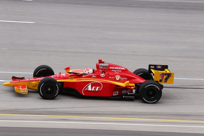 Photo: Wade Cunningham - AFS Racing - Dallara IR-05 - Honda