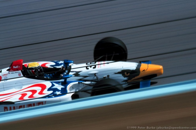 Photo: Alex Barron - All American Racers - Eagle 997 - Toyota