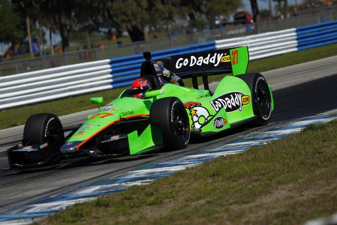 Photo: James Hinchcliffe - Andretti Autosport - Dallara DW12 - Chevrolet